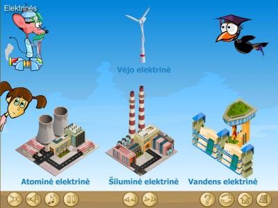 Elektros jėgainės